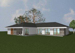 ilustrace rodinneho domu
