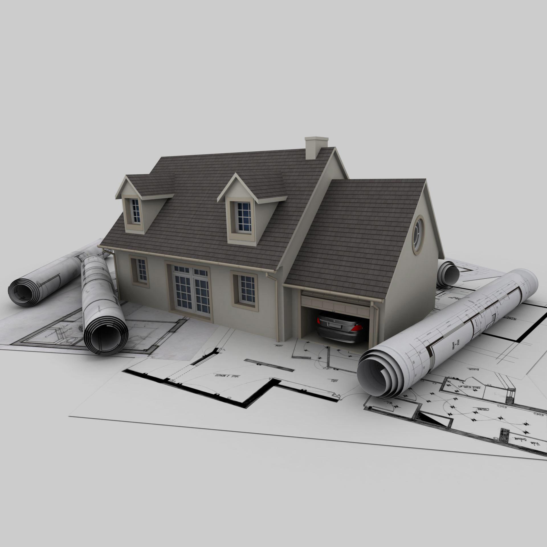 ilustrace rodinného domu